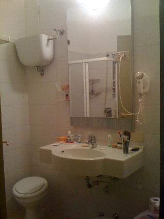 Villa Rosa Hotel: Blick ins Bad