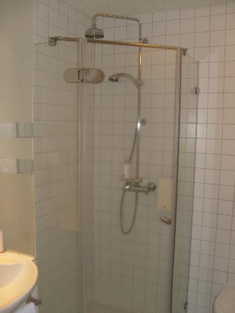 CenterHotel Plaza: Shower area (small)