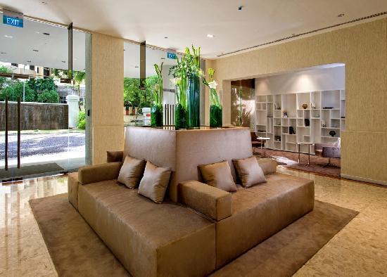 Fraser Residence Orchard, Singapore: Lobby