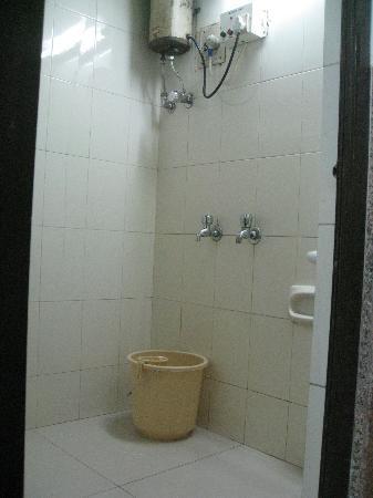 Hotel Royal Castle : 浴室。トイレはなし。