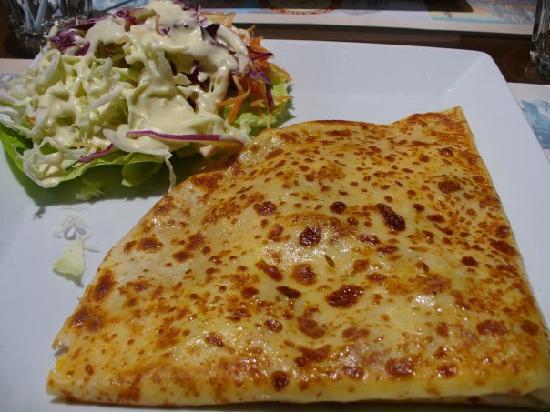 Le Grand Cafe du Theatre: Crepès ed insalata:panzo eccellente!