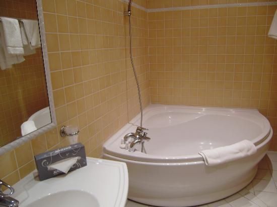 Hotel Les Palmiers: bagno