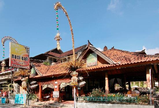 Adi Dharma Cottages: Nasi Bali restaurant