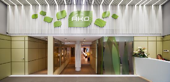 Ako Suite Hotel: Recepción