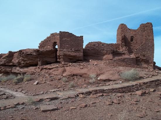 Flagstaff, AZ: Wukoki ruins - Juha J