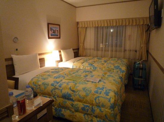 Toyoko Inn: お部屋は綺麗