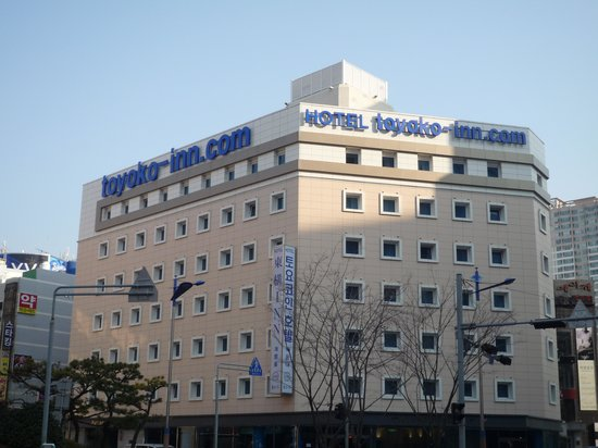 Toyoko Inn Busan Haeundae: 外観