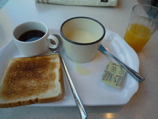 Toyoko Inn Busan Haeundae: 無料の朝食。韓国料理がたくさんありました。
