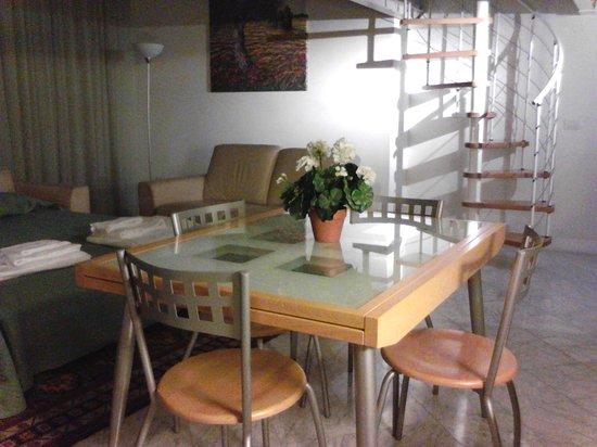 Residence Cavour: Edera, zona pranzo