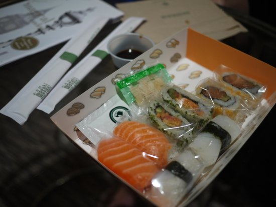 Sneaky Little Calories Review Of Wasabi London England