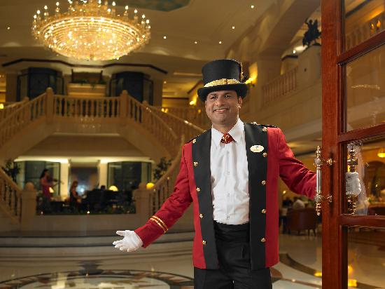 Doorman Picture Of Carlton Palace Hotel Dubai Tripadvisor