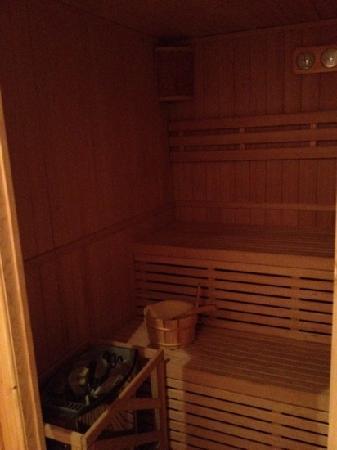 Auberge de l'Impossible: la sauna