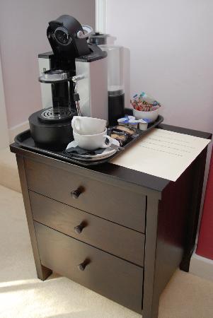 The White Horse at Sutton: Nespresso coffee machines