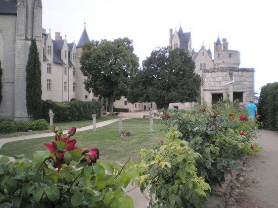 Chateau de Montreuil-Bellay: Blick von der Mauer