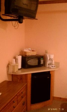 The Garrett Inn: Kitchenette