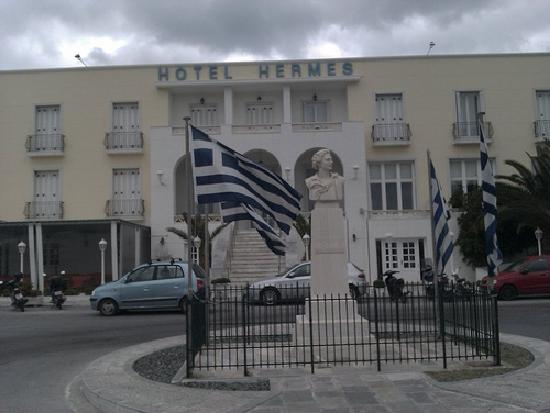 Hotel Hermes : View of the hotel entrance
