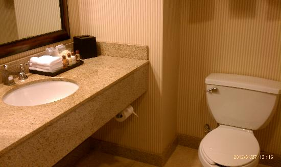 Sheraton Birmingham : Clean bathroom