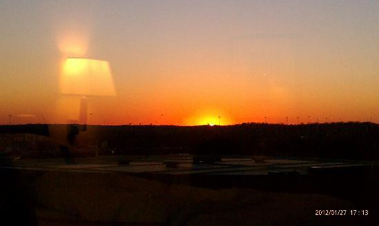 Sheraton Birmingham: Sunset over Birmingham