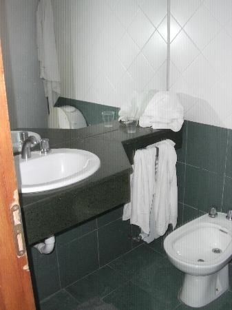 Hotel Aguas Del Sur: Vista del baño