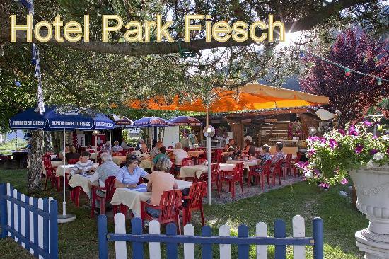 Hotel Park : Gartengrill