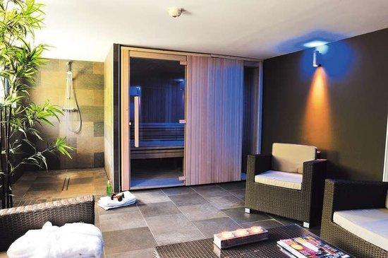 Hôtel de la Plage : Espace détente avec Sauna et Spa