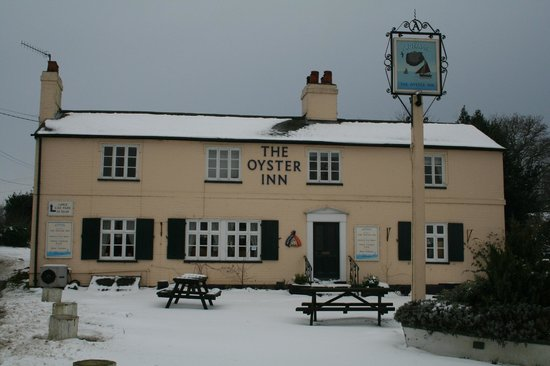 The Oyster Inn: A family friendly welcoming pub, great for local ales