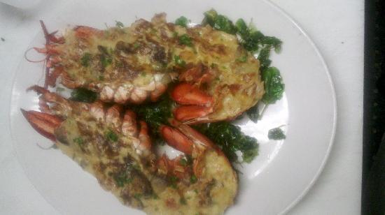 Tomas Bistro: Lobster Thermador