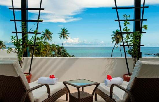 Las Terrazas Resort: View of Caribbean