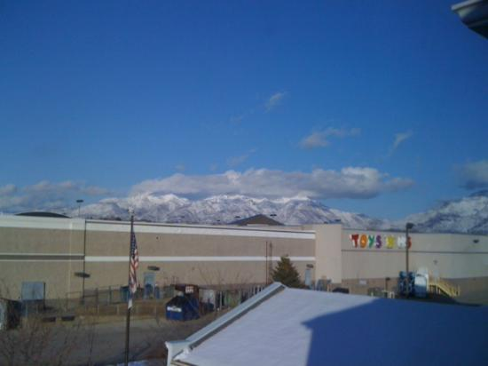 Hampton Inn Salt Lake City/Layton: view of the mountains