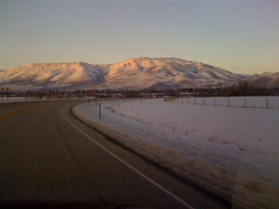 Hampton Inn Salt Lake City/Layton: Mountains near Park City