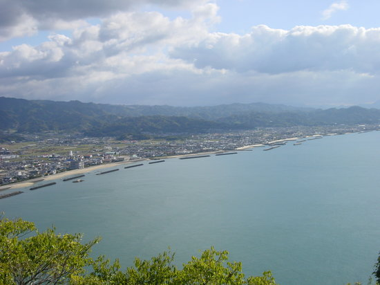 Matsuyama, Japón: View from viewpoint