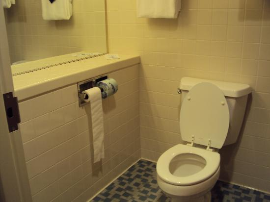 Blue Sail Inn: Sanitário merece uma reforma