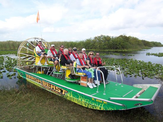 Marsh Beast Airboat Tours Photo