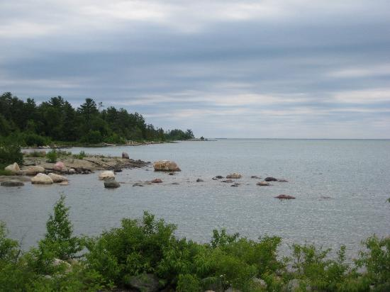 Bruce Bay Cottages: even the cloudy days are lovely there!