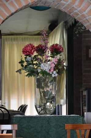 Le Ghiaie: l'interno del ristorante