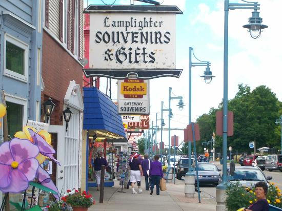 Sault Ste. Marie, MI: Enjoy shopping downtown and a stroll through the Soo Locks Park