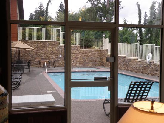 Olympic Lodge pool
