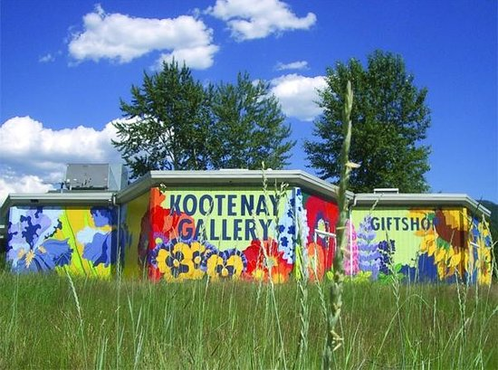 Castlegar, Kanada: Backside of the Kootenay Gallery