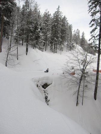 Nesselwaengle, Austria: ein Teil der Strecke