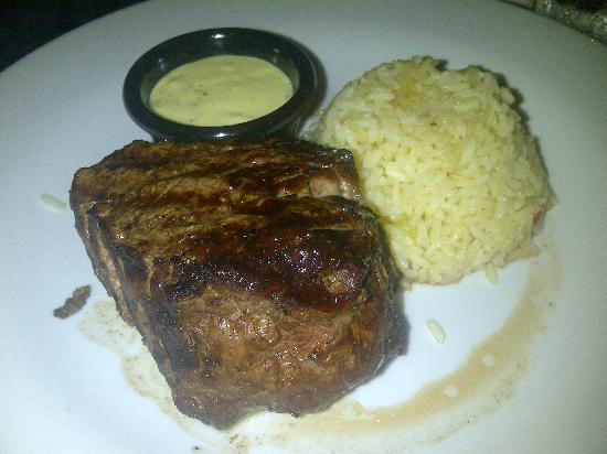 Okeechobee Steakhouse: My 12 oz Filet