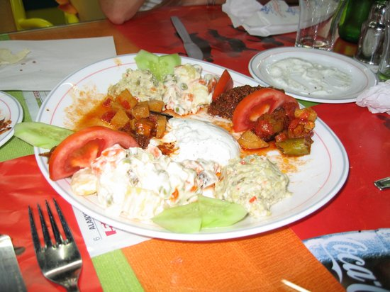 Ravza Restaurant: Food