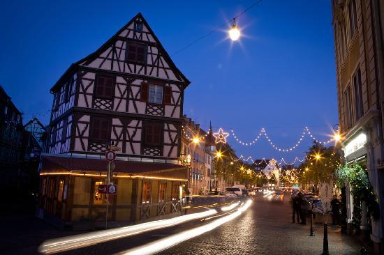 Wistub Brenner: Notre chalet durant les marchés de Noël