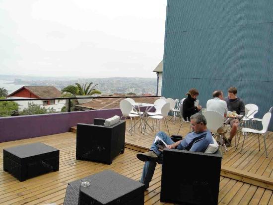 Ultramar Hotel: Terrace