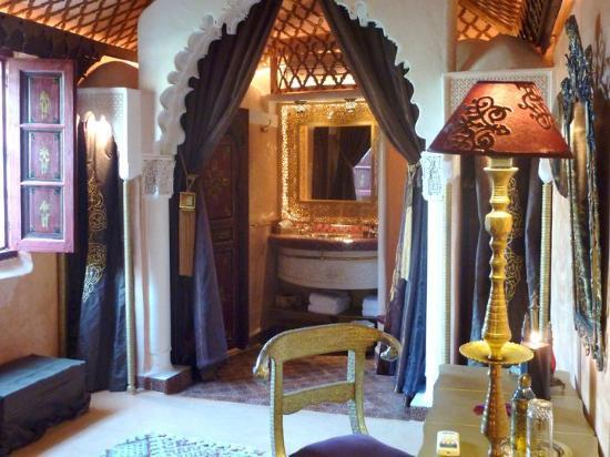 Riad Armelle: Salle de bains hors du commun