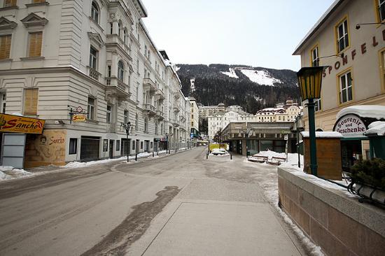 Hotel Elisabethpark: street to the hotel