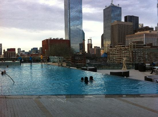 Heated Infinity Pool Picture Of Omni Dallas Hotel Dallas