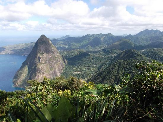 Boucan by Hotel Chocolat: top of gros piton