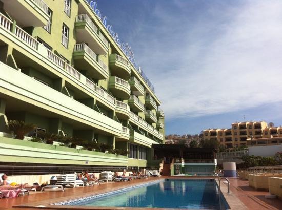 Ocean Beach Aparthotel: view from pool bar
