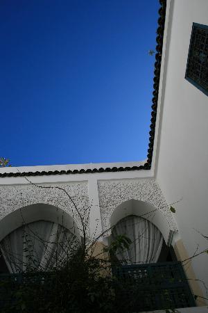 Dar la Cle de la Medina : carré de bleu