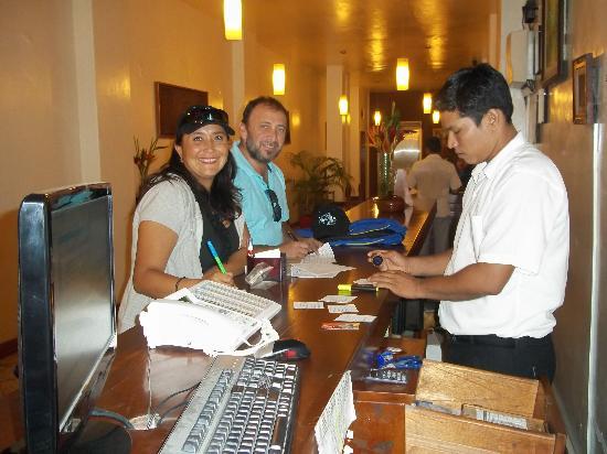 Amazon Apart Hotel: Llegando al Hotel
